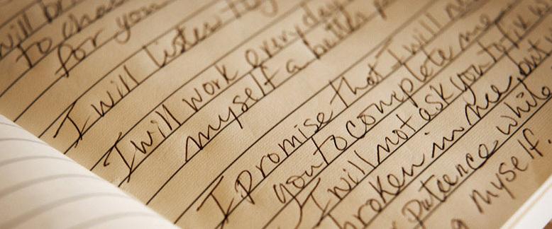 Discurso ou votos de casamento. 5 dicas sobre como escrever.