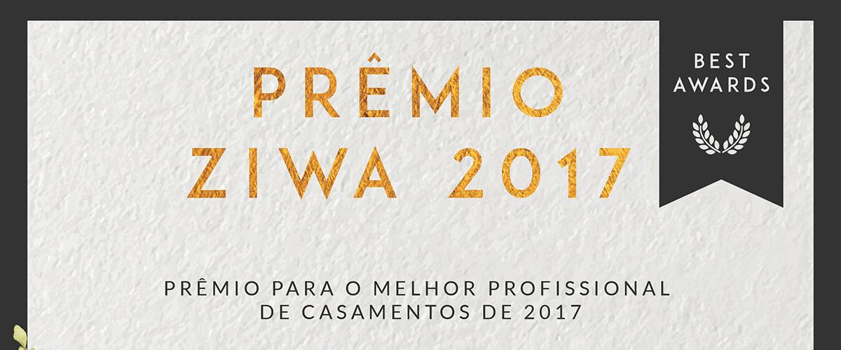 Prêmio ZIWA | Melhores Videomakers Filmagem de Casamento RJ